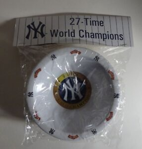 SET OF 2 NY YANKEES ICE CREAM BOWLS 27-TIME WORLD CHAMPIONS MLB SGA 2010 - NEW!!