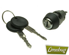 VW Ignition Lock Cylinder With Keys Camper T1 Beetle Buggy T3 Ghia Fastback