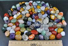 2 KG TROMMELSTEINE-Edelsteine+Mineralien+I+NATUR+BUNT+SM (GP: 8,50 € pro KG)
