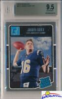 2016 Donruss #372 Jared Goff Rated Rookie BGS 9.5 GEM MINT LA Ram Rookie!