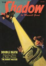 The Shadow Double novel vol 104 double death & Robot Master Roman inglés