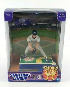 VINTAGE Derek Jeter Starting Lineup 1999 Stadium Stars SEAELD