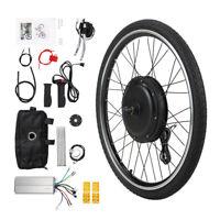 "26"" E-Bike Front Wheel 36V 500W Electric Bicycle Motor Conversion Kit Hub"
