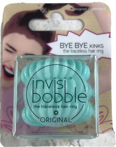 Invisibobble Hair Tye Pony Tail Holder Hair Elastic Hair Ring 3 Pack
