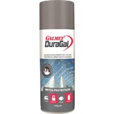 Galmet DURAGAL SILVER PAINT 350g Aerosol, Metal Protection, Anti-Corrosive