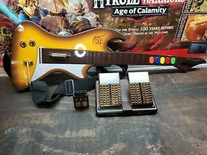 LEGACY wireless Guitar Hero controller for PS2 BY REACT Model RT696P Playstation