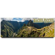Machu Picchu panoramic fridge magnet Cusco Region Peru travel souvenir