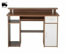 Walnut Home Office Furniture with Drawers