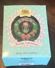 "Nos Precious Moments Christmas Ornament ""Baby's First Christmas 1993�"