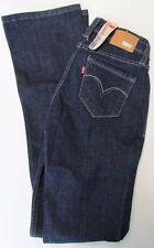 NWT Levis Jeans Curve ID Bold Curve Bootcut Skinny Blue Denim Size 24 x 32