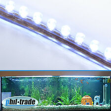 72cm 72 LED Leiste Streifen WEISS Lichtleiste wasserdicht Aquarium Mondlicht