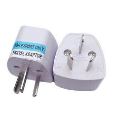 3 pin Power Plug Adapter EU UK US to AU Australia Universal Travel Converter