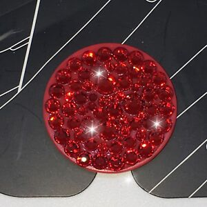 Bling Authentic Red PopSocket w/ Red Swarovski Crystals PopSockets iPhone Galaxy