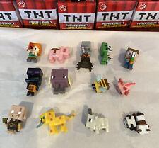 Minecraft Mini Figures TNT Series 25 Complete Set 13 Bundle Includes Chase Panda
