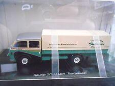 Acide 3c-h 3 C H truck camion Bachmann Pick-up Bâche haut de gamme Resin SCHUCO 1:43