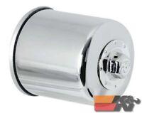 K&N Oil Filter For POWERSPORTS CANISTER CHROME KN-303C