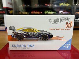 2021 HOT WHEELS id - Subaru BRZ (Zamac - Series 2) New & Unopened