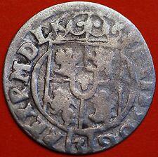 Europian Medieval Poland 1623 . Sigismund III . 1/24 Thaler. Silver Coin
