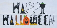 Happy Halloween Hand Painted Needlepoint Canvas