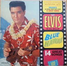 Scarce Elvis Presley - Blue Hawaii - Deep Groove - Original Sound Track