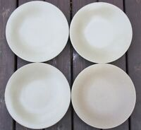 GROUP  OF 4   Lindt Stymeist   SAND  Salad Plates  8 1/4 inches across top