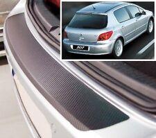 Peugeot 307 3/5 Portes Hayon - Carbone Style pare-chocs arrière Protecteur