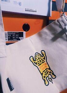 Human Made Beige Cream Cotton Tiger Tote Bag New with tags NIGO OK Studios RARE*