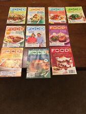 Lot of 10 Martha Stewart  Everyday Food Magazines 2008 Full Year