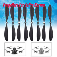 8pcs*Drone Propellers Blades Wings Accessories Parts For GoPro Karma Black
