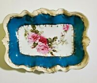 RARE Antique Early RS Prussia rectangular bowl