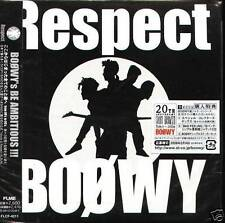 BOOWY Respect - Japan CD NEW WIPEOUT Sign SUGAR LUNCH