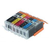 6 INK CARTRIDGE PGI-250XL CLI-251XL FOR CANON PIXMA MG5450 MG5520 MG6320 MG6350