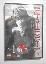 DEATH NOTE VOL 1 DVD NEW and SEALED ANIME TV SHOW Episodes 1 - 8