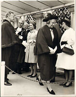 photo of the queen & prince philip at christchurch dorset ( mayor)  ! 1970s ?