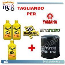 TAGLIANDO FILTRO OLIO + 3LT BARDAHL XTC 10W40 YAMAHA YZF THUNDERCAT 600 R 1996