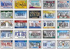 FRIDGE MAGNET - License Plates (Various Design)- US States American licence
