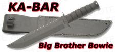 Ka-Bar KaBar Knives Big Brother Bowie w/ Leather Sheath 2211