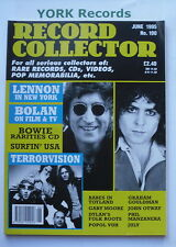 RECORD COLLECTOR MAGAZINE - Issue 190 June 1995 - John Lennon / Marc Bolan