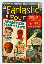Fantastic Four #7 VG- October 1962 Planet X