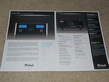 McIntosh MA6300 Integrated Amplifier Brochure, 2 pg, Specs, Articles, Beautiful