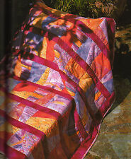 Super Quick Colorful Quilts Designs for Fat Quarters Block Quilting Pattern Book