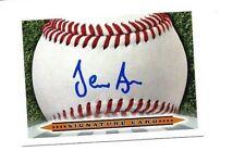Jean Carlos Arias 2018 Cedar Rapids autographed signed signature baseball card