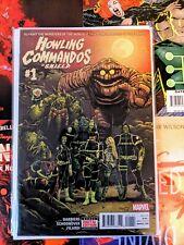 Howling Commandos of S.H.I.E.L.D. #1 NM ( 2015, Marvel) Low Print 1st app Glyph