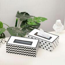 Tissue Box Home Bathroom Toilet Paper Napkin Holder Case Car Storage Container
