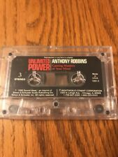 Unlimited Power Anthony Robbins Cassette Ships N 24h