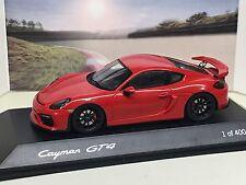 SPARK  1:43 Porsche  Cayman GT4 Porscheplatz 11/16 400 PCs