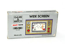 Nintendo Game and Watch Snoopy Tennis (Box & Manual Only) No Console GREAT SP-30
