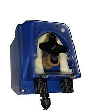 Bomba dosificador peristáltica para el tratamiento de aguas de piscina. 1 Lt / h