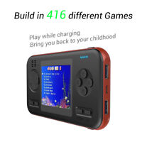 Retro Handheld 2.8Inch 8Bit Portable Video Game Console With 8000mAh Power Bank