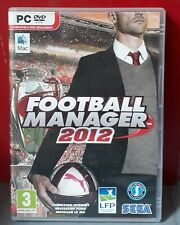 FOOTBALL MANAGER 2012 PC DVD-ROM MAC PAL